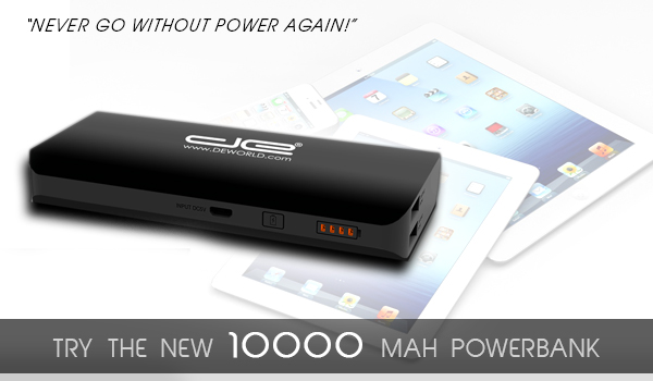 Digital Energy World, DE World, Powerbank