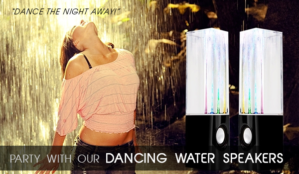 Digital Energy World, DE World, Dancing Water Speakers